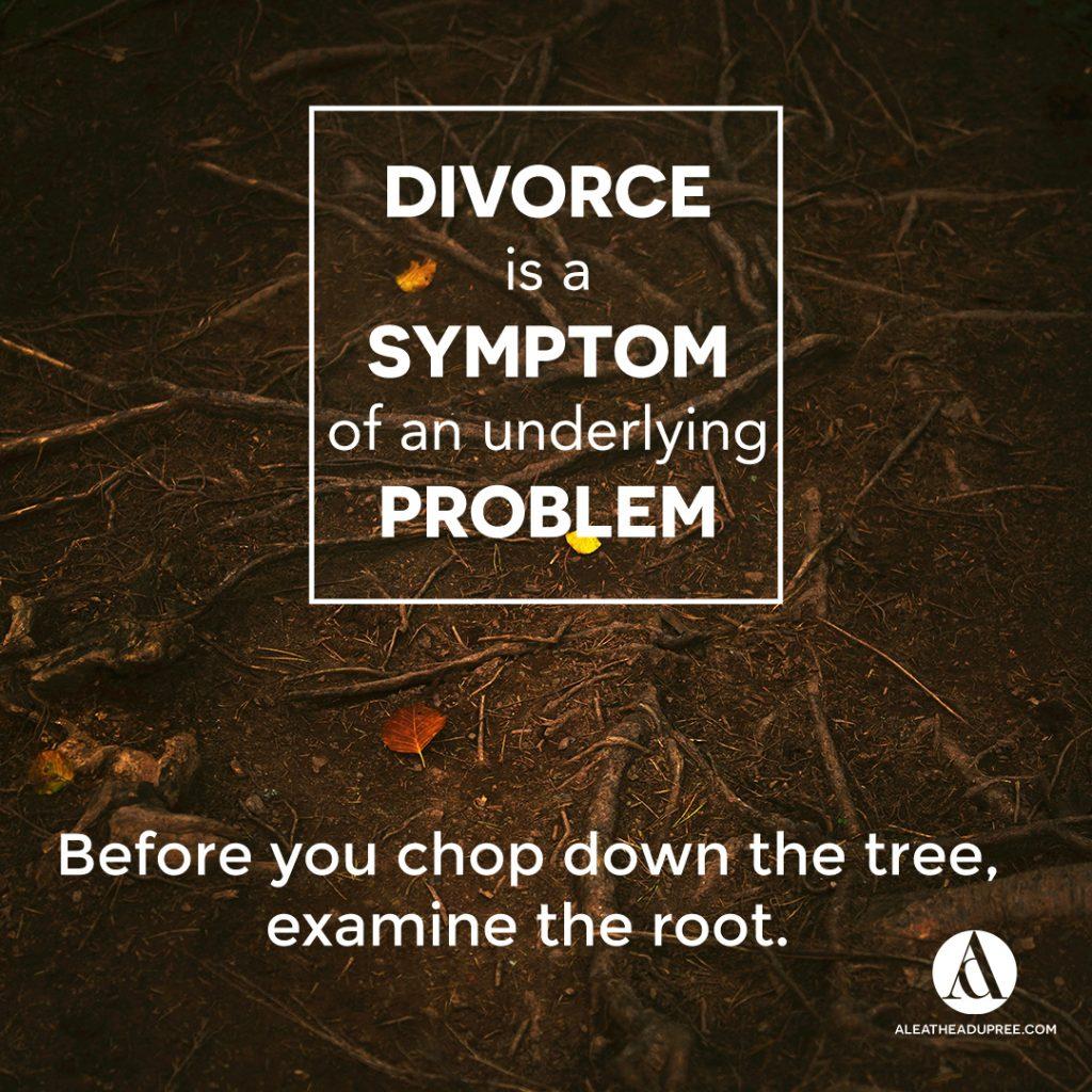 Divorcing Divorce by Aleathea Dupree aleatheadupree.com